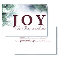 2018 Christmas Card - Joy to the World
