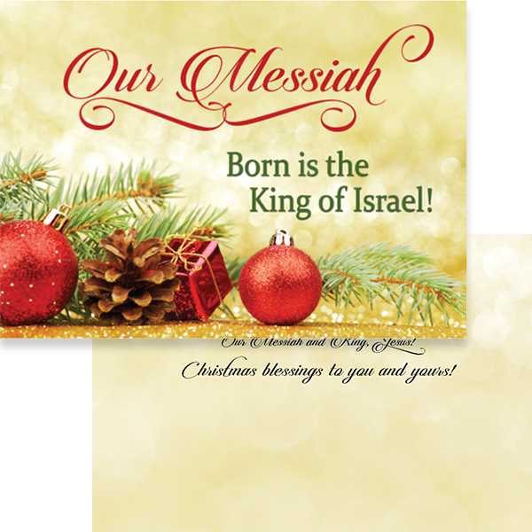 2015 Christmas Card - Our Messiah